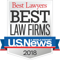 U.S. News Best Law Firms 2018